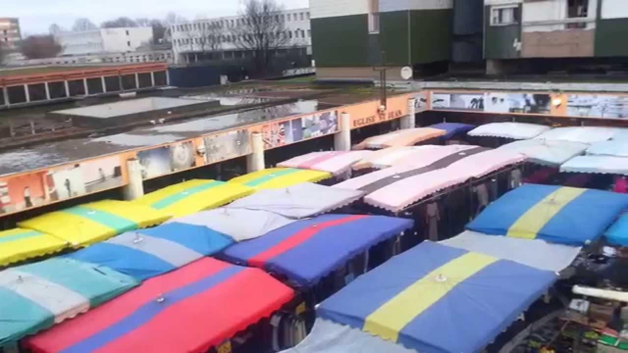 Le premier dimanche 2015 au marché du Galionà Aulnay sous Bois YouTube # Encombrants Aulnay Sous Bois