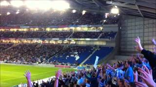 Brighton & Hove Albion North stand West Stand chant