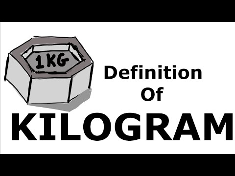 What is one kilogram