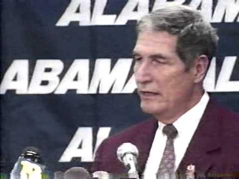 Gene Stallings Resignation Speech, 1996