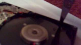 CLEAR Hard Drive Platter!!