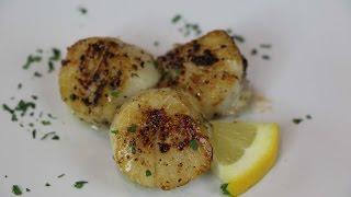 Seared Scallops Recipe - The BEST Scallops EVER!