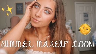 EASY NATURAL SUMMER MAKEUP LOOK!