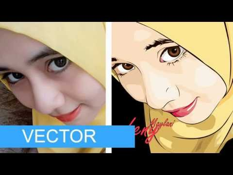 Cara Membuat Vektor/Vexel dengan Photoshop dengan Mudah untuk Pemula