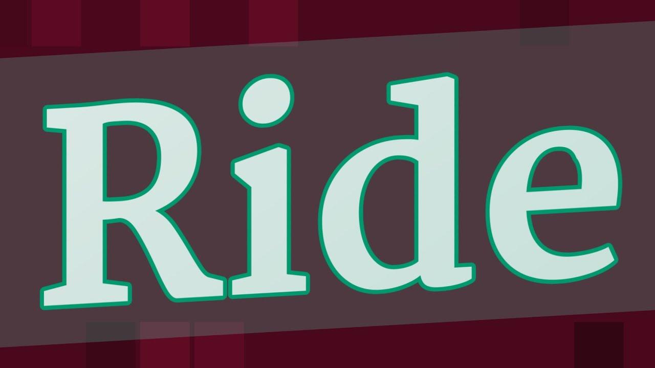 Download RIDDEN pronunciation • How to pronounce RIDDEN