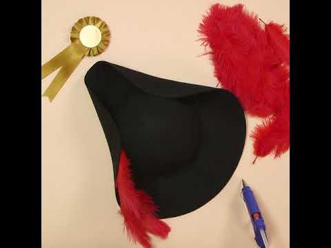 fabriquer un chapeau de pirate comment r aliser un costume de pirate snazaroo youtube. Black Bedroom Furniture Sets. Home Design Ideas