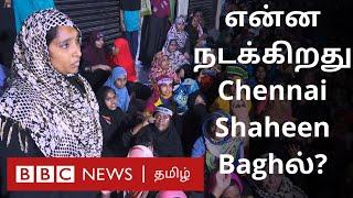 CAA protest | Chennai Shaheen Bagh