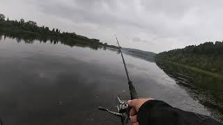 Рыбалка на реке Томь Сентябрь Лишь бы дома не сидеть