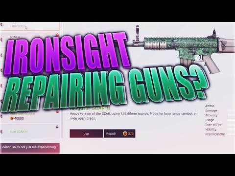 Why Do You Have To Repair Guns In Ironsight?