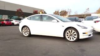120 new Model 3 at Tesla Delivery Center in Fremont