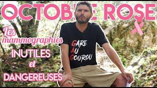 Octobre rose, des mammographies inutiles et dangereuses !