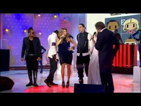 Black Eyed Peas - Don't Stop The Party (Live + Interview) France 2 - 2011