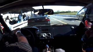Pablo Toyota MR2  en la parrilla de salida