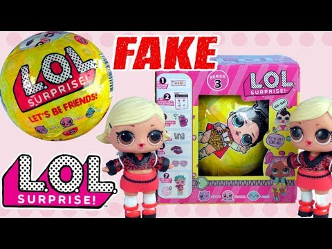 LOL Surprise • Nowa koleżanka do zabawy • FAKE TEST