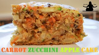 Gambar cover EASY RICE COOKER CAKE RECIPES: Carrot Zucchini Apple Cake