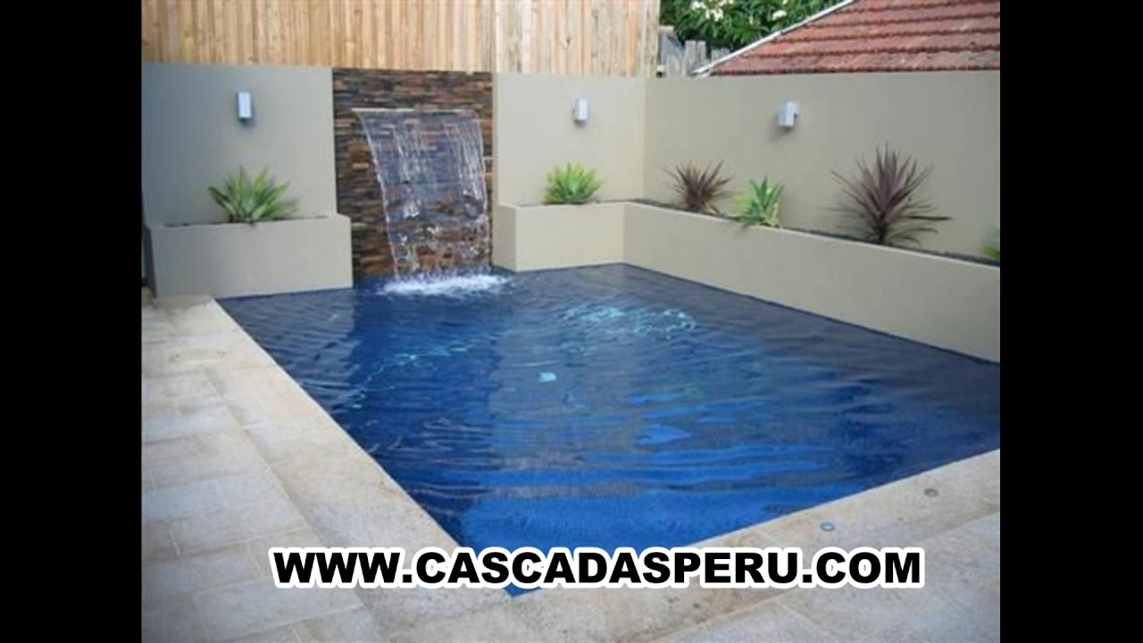 Velos de agua para piscinas cascadas artificial muro for Cascada artificial en pared