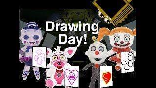 FNAF SL Plush Episode 5: Drawing day