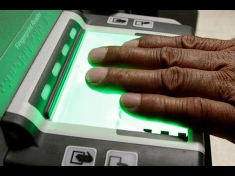 Aadhaar Card   Finger Prints Enrollment Process Part 2