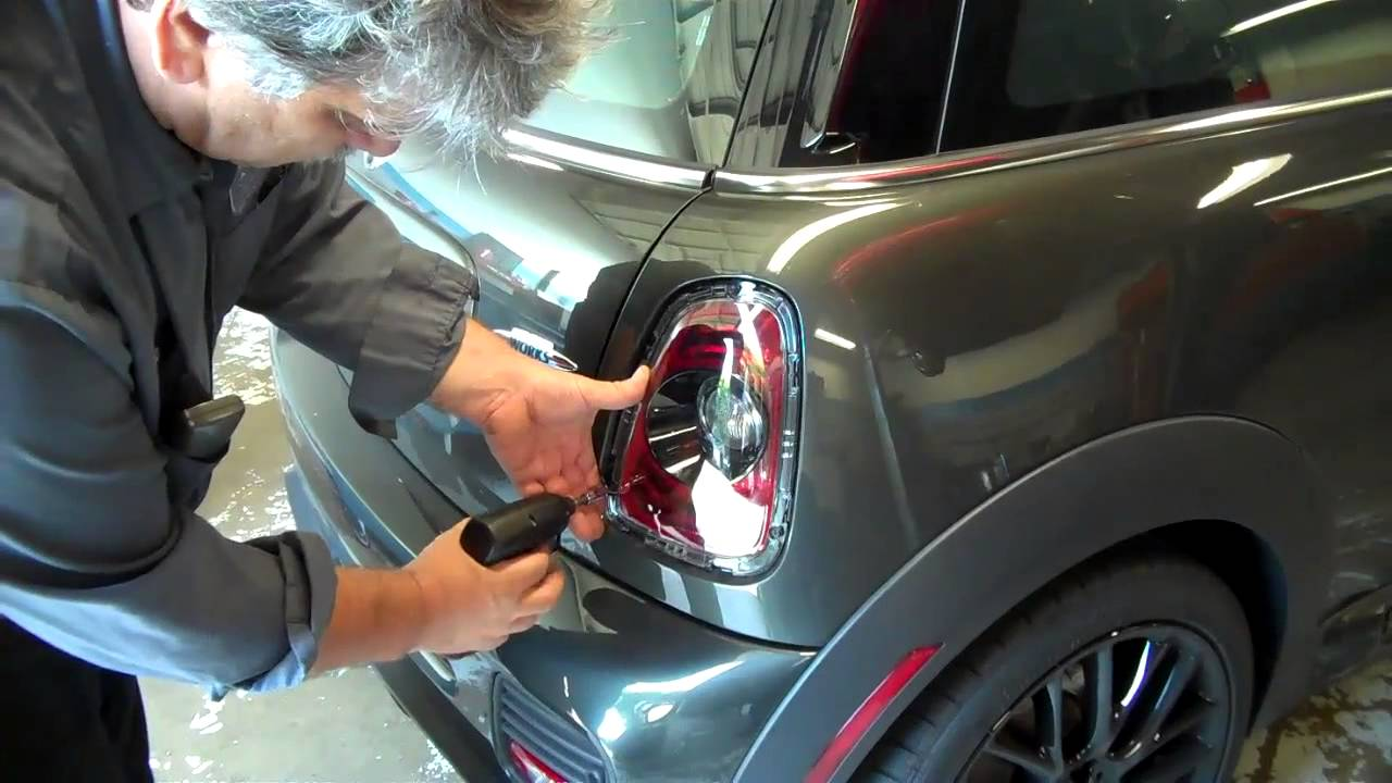 How To Replace The Tail Lights With The Black Line Tail Lights On A