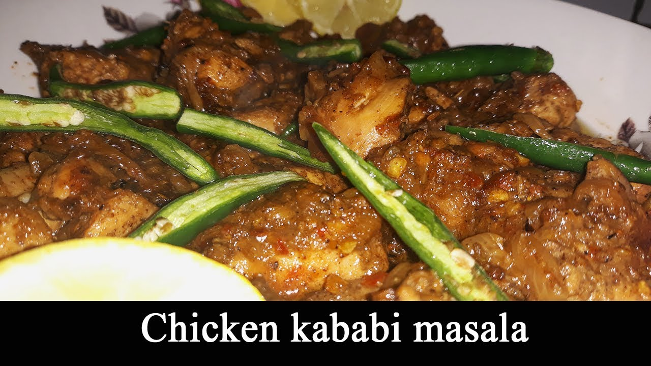 how to make chicken masala youtube