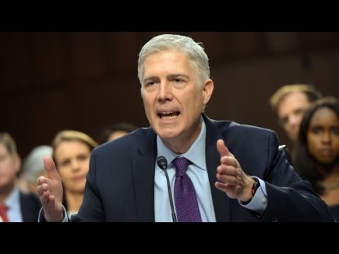 Gorsuch sends clear message to Democrats