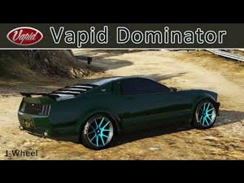 gta 5 online how to find the custom vapid dominator youtube