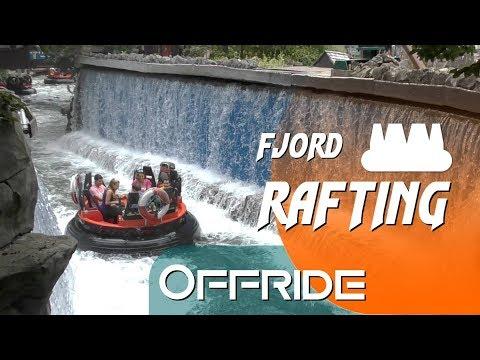 Fjord Rafting Offride | Intamin Rapid River | Europa-Park [4K]