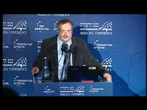 MK Prof. Daniel Hershkowitz. At the 12th Annual Herzliya Conference