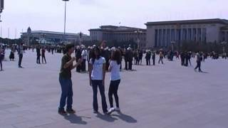 2012 04 12 Dancing in BeiJing Tiananmen Square