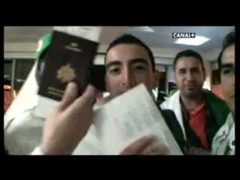 REPORTAGE CANAL + Qualification De L  Algerie  Au Soudan