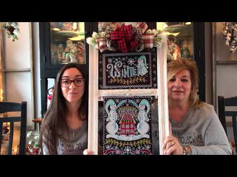 Flosstube #20:Priscilla & Chelsea- The Real Housewives of Cross Stitch