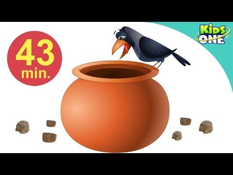 एक कौव्वा प्यासा था | Ek Kauwa Pyaasa Tha | Hindi Children Rhymes | 43 Min Compilation