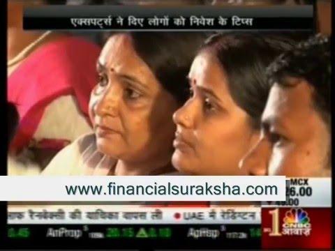 CNBC Awaaz Pehla Kadam Show At Housing Society Campus With CFP Harshvardhan Roongta 10/10/2015