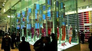 3 Global City Installations for the Japanese fashion brand UNIQLO. ...