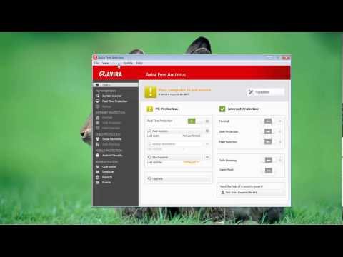 How To Configure Avira Not To Scan Certain File Or Folder
