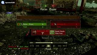 UC2 Focus Player VS Schizoid X3