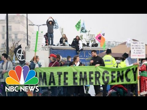 Climate Change Protests Close London Streets | NBC News