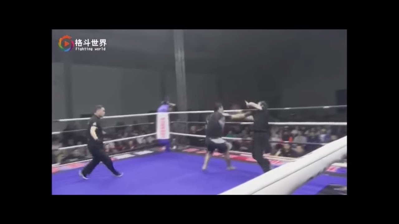 Chinese MMA's 'Mad Dog' batters another 'kung fu' master