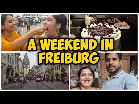 A Weekend in Freiburg | Black forest | Mrs and Mr Germany | Malayalam Vlog 04