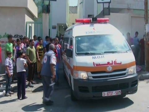 Strike Kills 10 Near UN School in Gaza