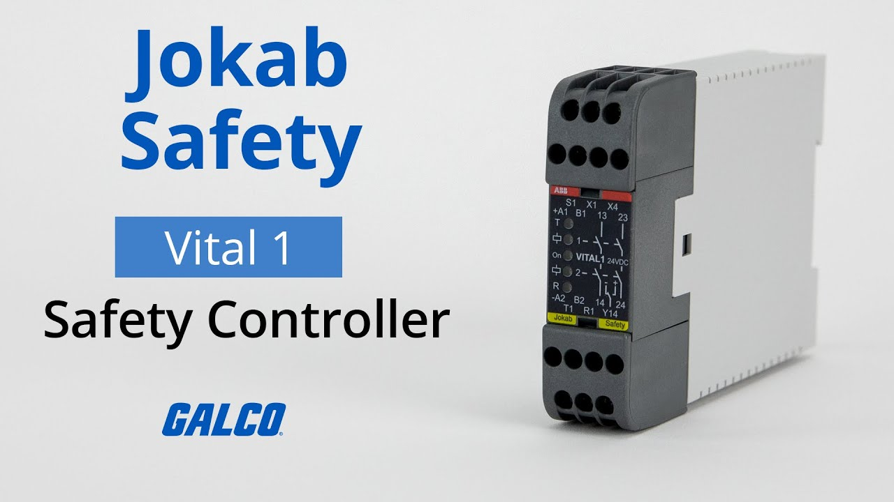 ABB 2TLA020052R1000 Vital 1 Safety Relay 24 VDC for sale online