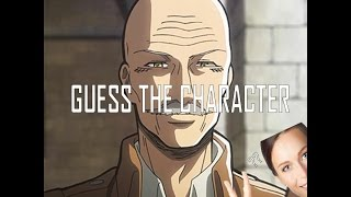 Guess the Anime Character #5 [ATTACK ON TITAN EDITION] [EASY-HARD] (Reupload)