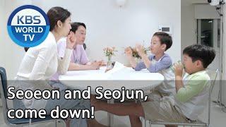 Seoeon and Seojun, come down! [Stars' Top Recipe at Fun-Staurant/ENG/2020.10.27]