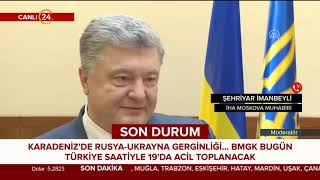 Rusya, Ukrayna savaş gemilerine ateş açtı