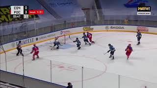 Родион Амиров забивает эффектный гол в стиле лакросс за молодёжную сборную России