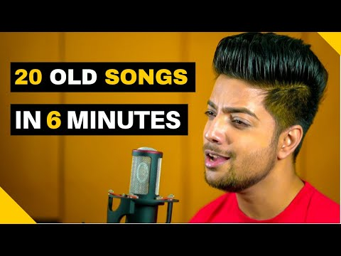 20 Hit Old Songs in 6 Minutes | Old Songs Mashup - Siddharth Slathia