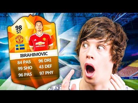 OMFG IBRA IN BPL INSANE GAME KILLING DRAFT!! - FIFA 16 ULTIMATE TEAM