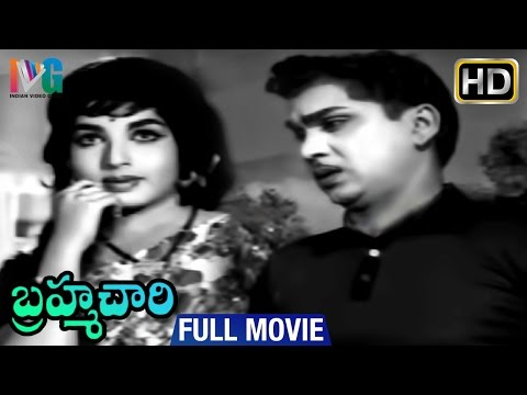 Brahmachari Telugu Full Movie | ANR | Jayalalitha | Chalam | Rama Prabha | Indian Video Guru