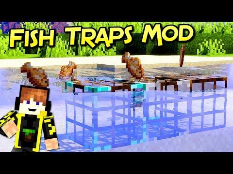 Fish Traps Mod | ¿Aburrido De Pescar? | Fabric | Para Minecraft 1.14.2 | Review Español