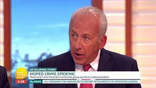Should Police Officers Be Able Pursue Moped Crimes? | Good Morning Britain